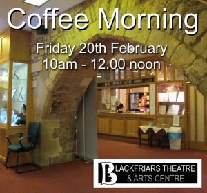 Coffee Morning - Friday 20th February