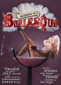 An Evening of Burlesque reveals all in NEW show for 2015