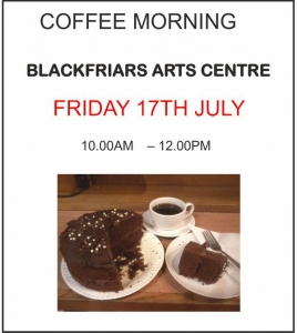 Coffee Morning - Friday 17th July 2015