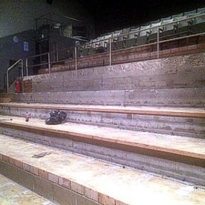 Blackfriars Auditorium Refurbishment is underway...