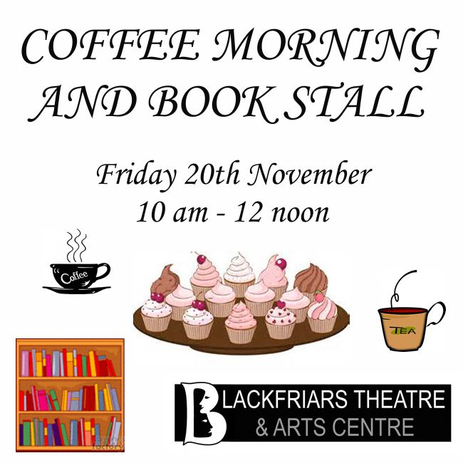 November Coffee Morning with Book Stall 20th November
