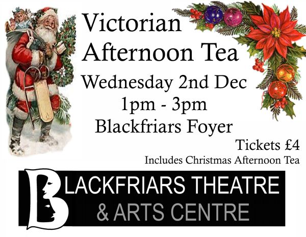 Victorian Afternoon Tea - Wednesday 2nd Dec