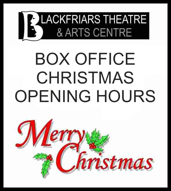 Christmas Box Office Hours