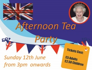 Afternoon Tea Party - 12th June 2016