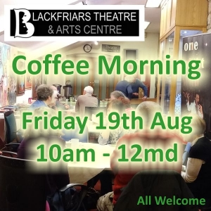 August Coffee Morning - Friday 19th August