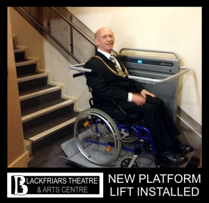 Blackfriars Theatre - Disabled Access Update