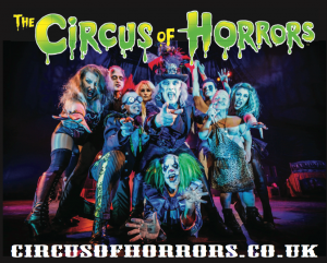 BLACK FRIDAY DEAL - THE CIRCUS OF HORRORS