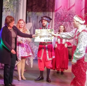 Robin Hood and the Babes in the Wood raise money for Children's Ward