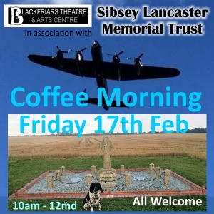 February Coffee Morning - in aid of Sibsey Lancaster Memorial Trust