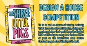WIN TICKETS - 3 LITTLE PIG DRAWING COMPETITION
