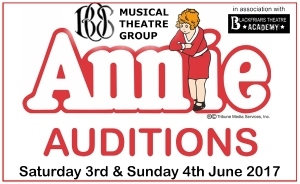 ANNIE OPEN AUDITIONS