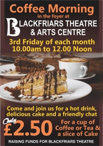 Coffee Morning - This Friday 21st July