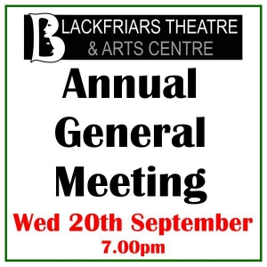 Blackfriars Theatre - AGM - 20th September 2017