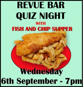 Blackfriars Social - Pub Quiz and Fish and Chip Supper - 6th September