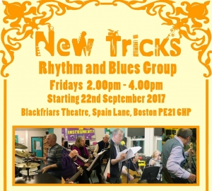 NEW TRICKS - Rhythm and Blues Group - Fridays at Blackfriars - FREE