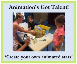 FREE ART WORKSHOP - Animation's Got Talent - 25th October 2017