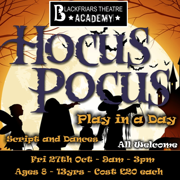 BTA Hocus Pocus - Play in a Day - 27th October 2017