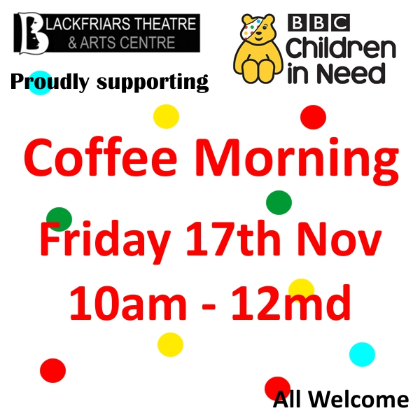 Children in Need - Coffee Morning 17th November 2017