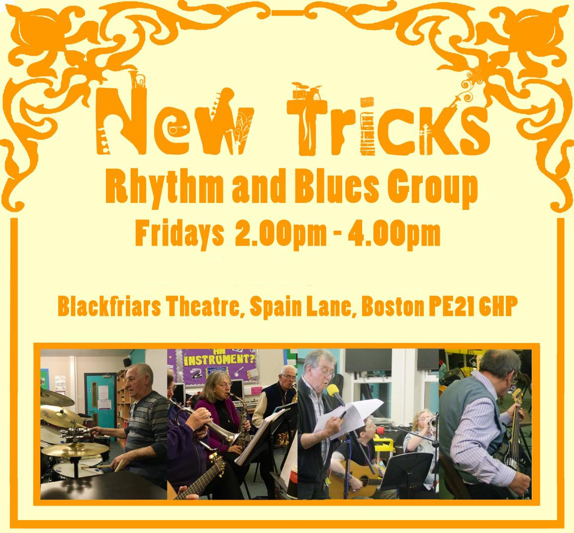 New Tricks - Rhythm and Blues Group - Continues at Blackfriars