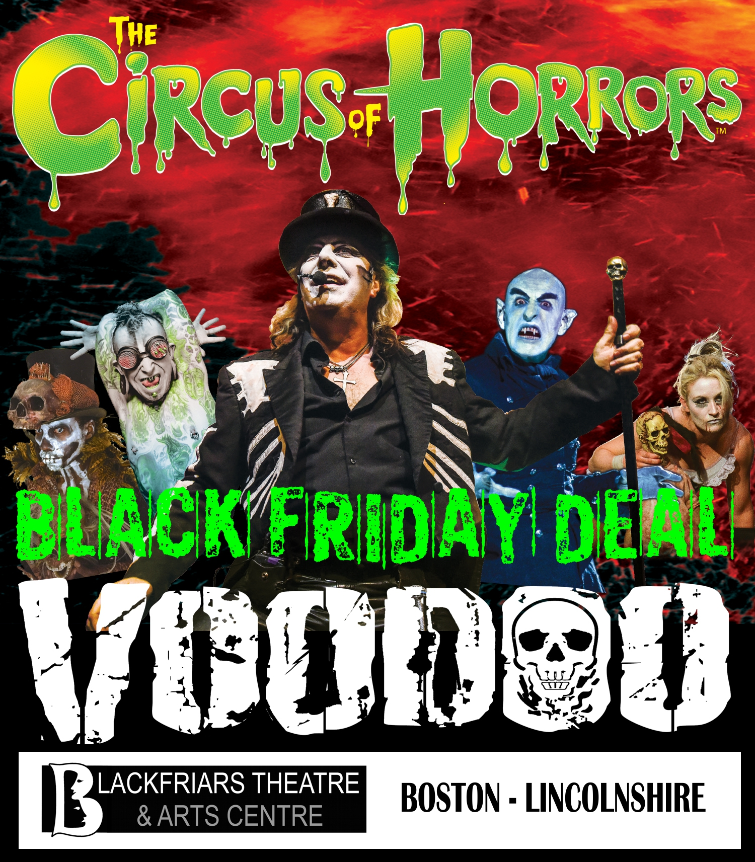 BLACK FRIDAY DEAL - Circus of Horrors!