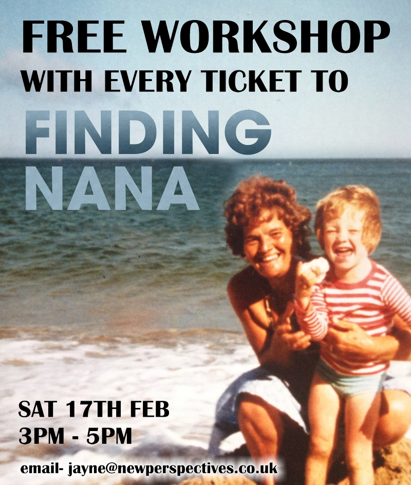 FREE Workshop for Finding Nana audience....