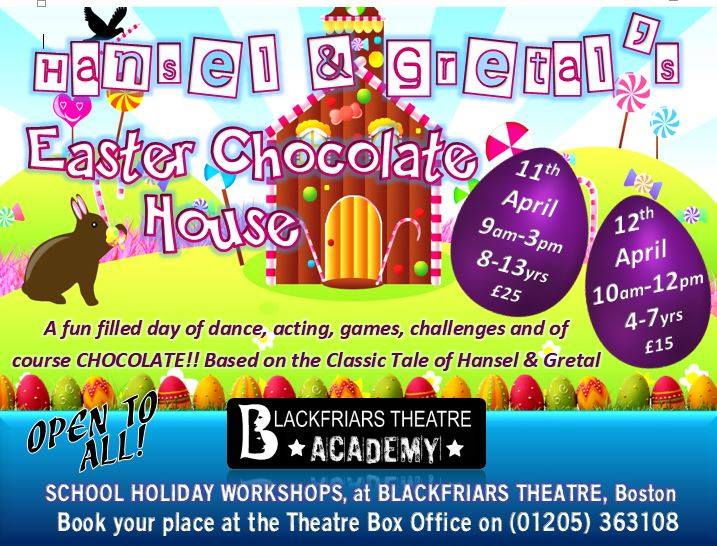 Blackfriars Theatre Academy - Easter Workshops