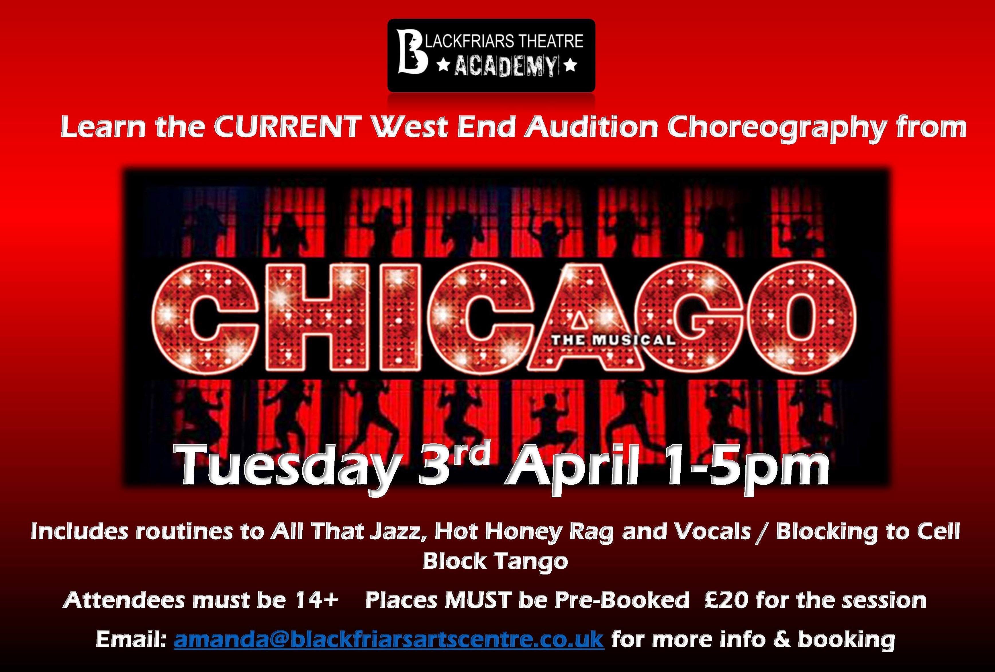 Blackfriars Theatre Academy - Easter Chicago Workshop
