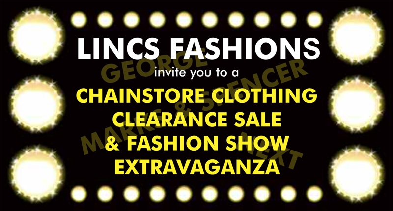 Charity Fashion Show - Thurs 29th March 2018