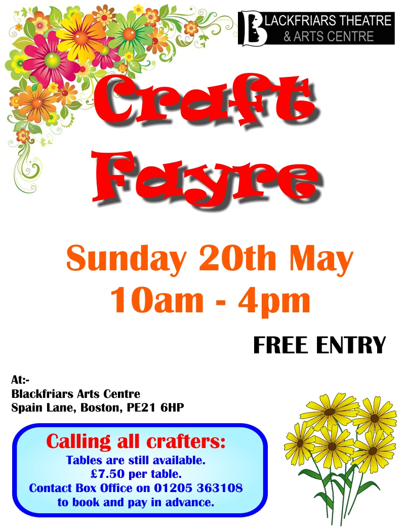 Summer Craft Fayre - POSTPONED
