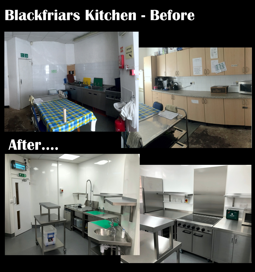 Blackfriars Theatre - Kitchen Refurbishment Update