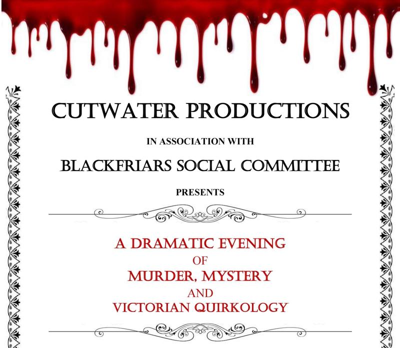 A Dramatic Evening of Murder, Mystery and Victorian Quirkology - Fri 13th July
