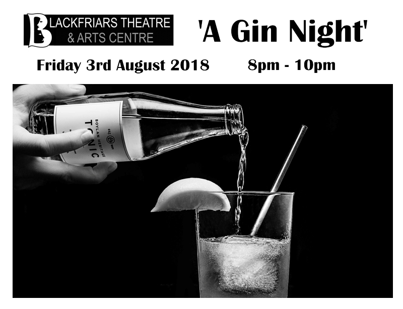 A Gin Night - Tasting Evening - 3rd August