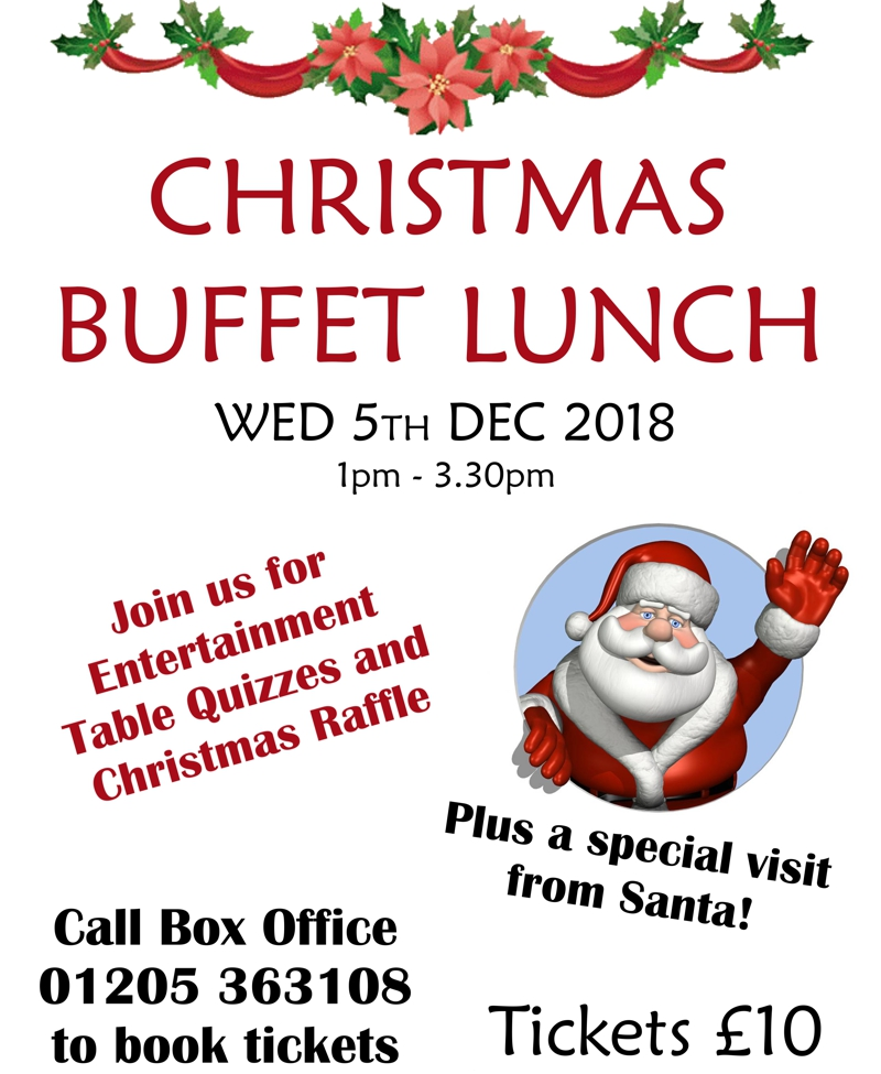 Christmas Buffet Lunch - 5th December 2018