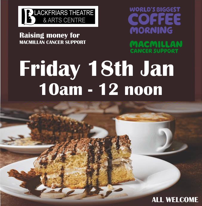 Coffee Morning - 18th January 2019