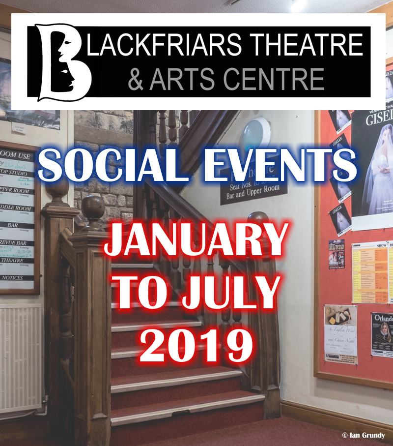 Blackfriars Social Events 2019