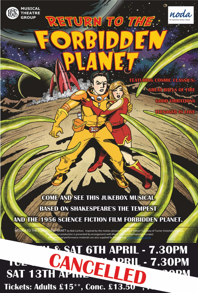 Return to the Forbidden Planet - Cancellation
