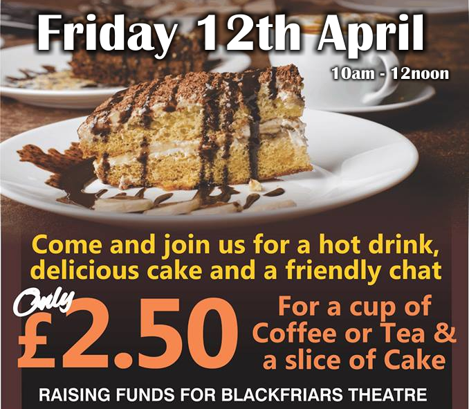 April Coffee Morning - Friday 12th April 2019