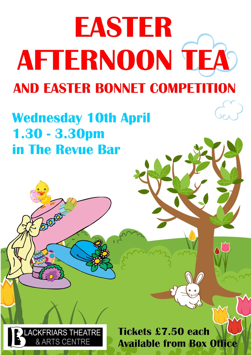 Easter Afternoon Tea - Wednesday 10th April