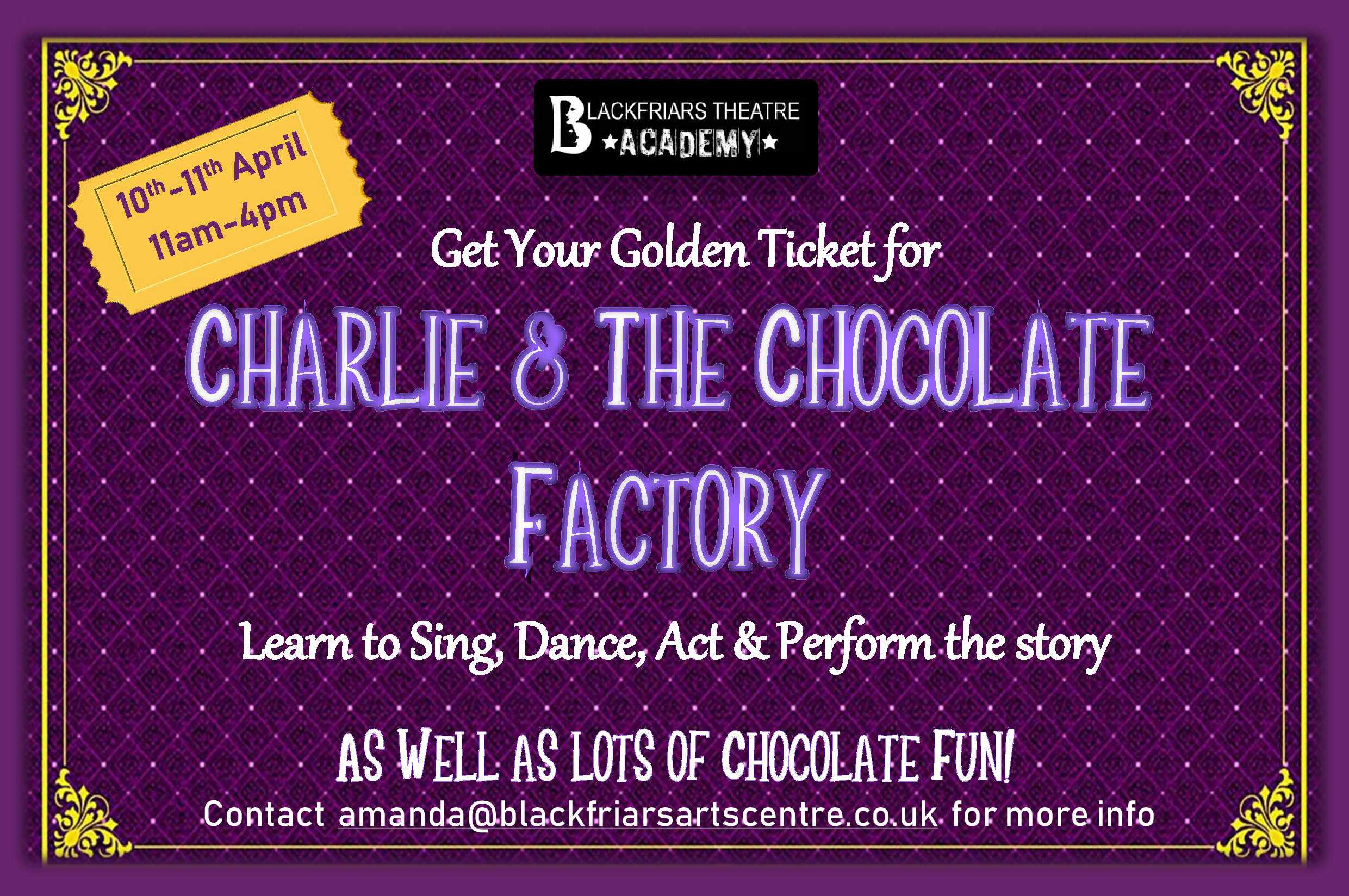 Easter Workshop 2019 - Blackfriars Theatre Academy