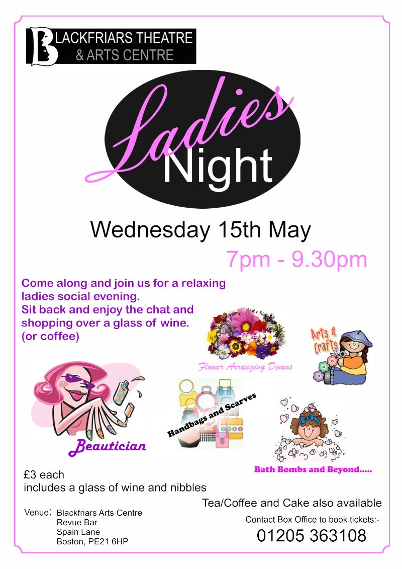 Ladies Night 15th May 2019