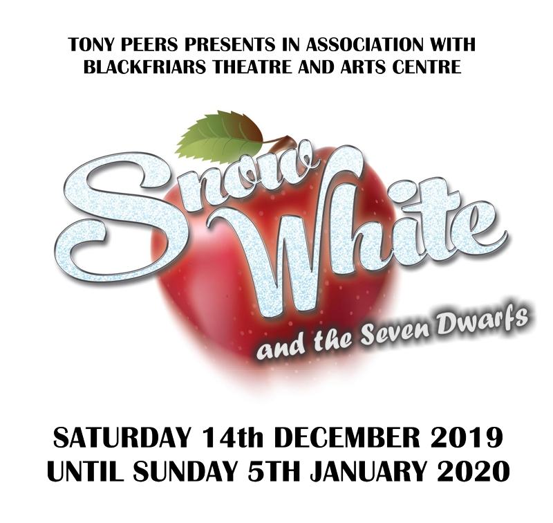 Snow White and the Seven Dwarves is coming to Blackfriars Theatre