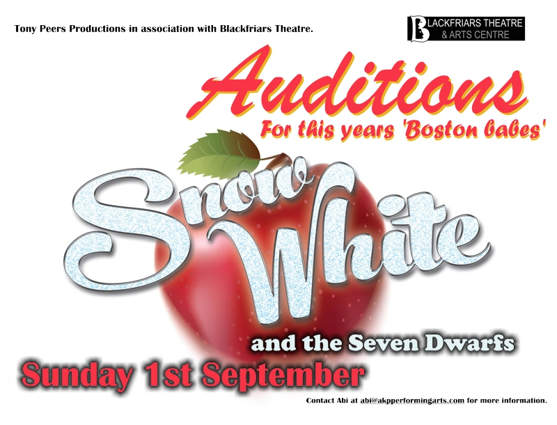 AUDITIONS - Snow White and the Seven Dwarfs