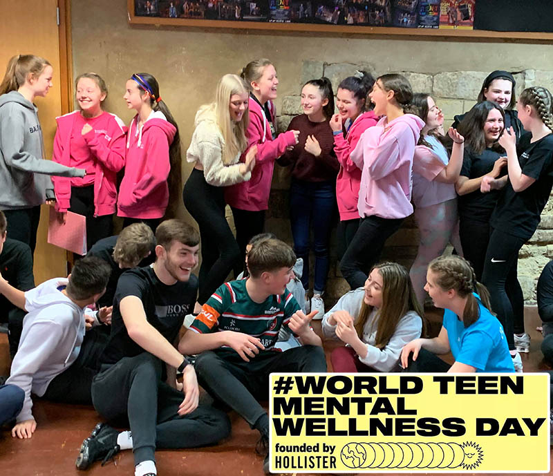 Theatre Academy support World Teen Mental Health Wellness Day
