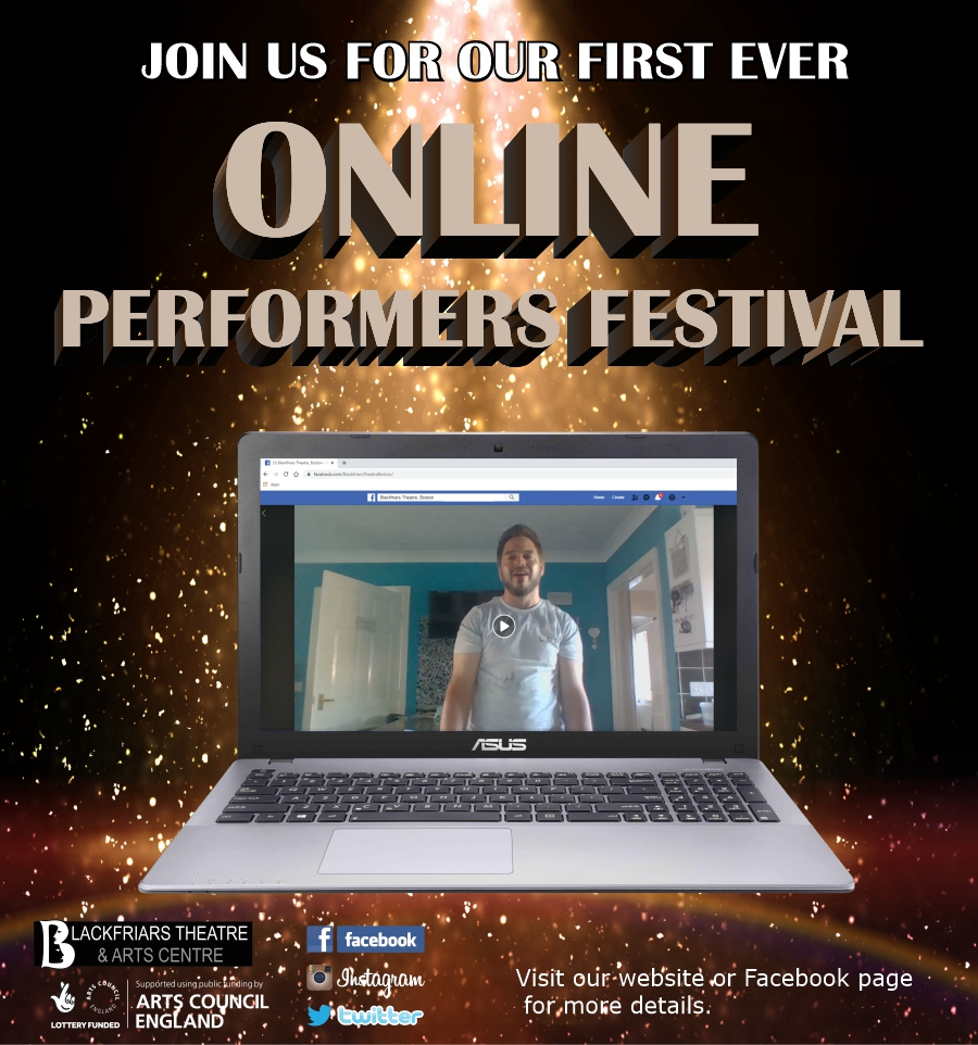 Blackfriars Online Performers Festival - Community Project