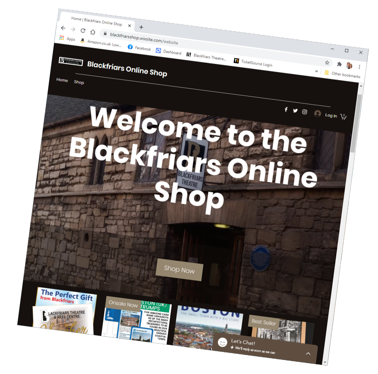 Blackfriars Launch New Online Shop