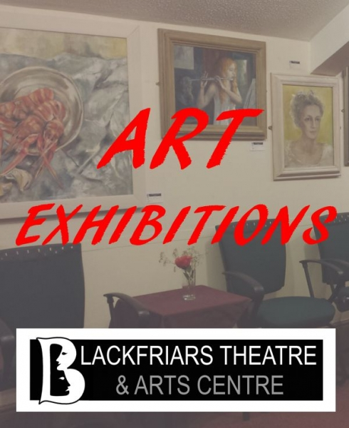 Blackfriars Life Drawing Class Exhibition