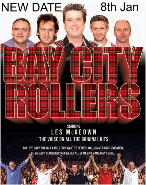 BAY CITY ROLLERS - NEW DATE