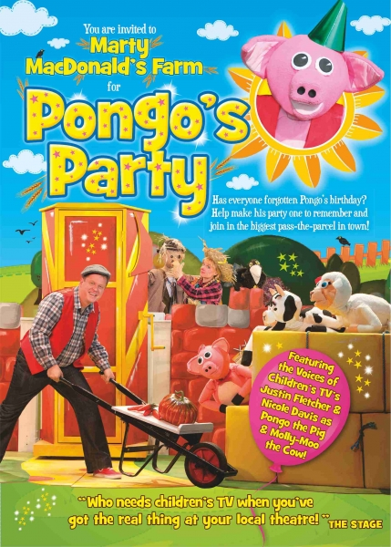 You are invited to Pongo's Party