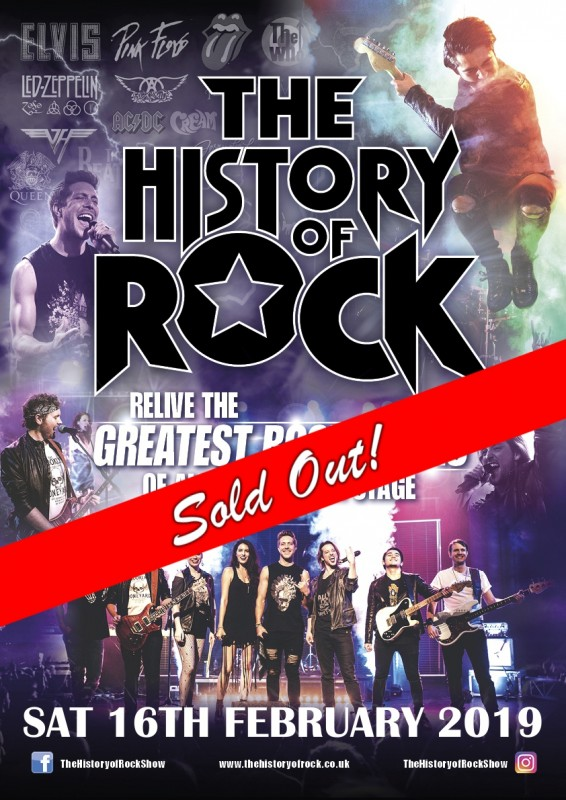 History of Rock - Musical Extravaganza