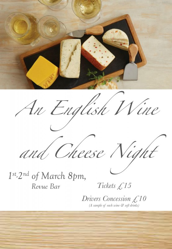 An English Wine and Cheese Night